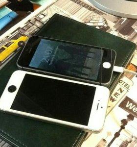 Продам 2 iphone 5s, либо обменяю на Iphone 6