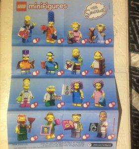 Минифигурки Simpson LEGO