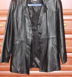 Продам кожаное пальто/куртку/пиджак