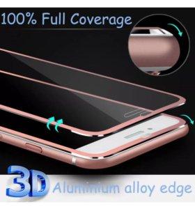 Защитное 3D стекло для iPhone 6/6s/7