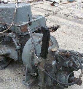 Двигатель двух цилиндровый