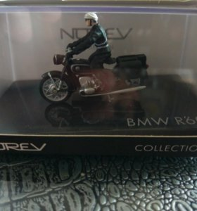 Модель мотоцикла BMW R60 Norev