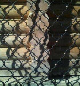 Решетки на окна кованные ( срочно  )