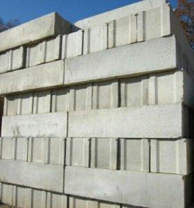 Блоки фундаментные ФБС.Плиты перекрытия.