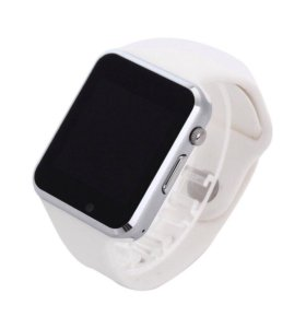 Белый Apple Watch Android