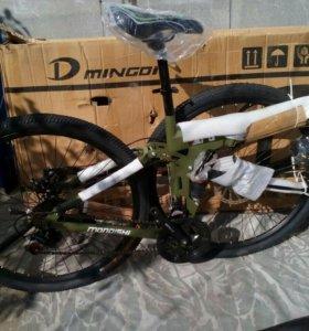 Новый горный велосипед MONDISHI