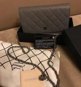 Chanel Woc caviar.Полный комплект.Original