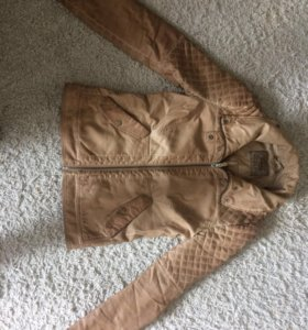 Куртка Zara из экокожи
