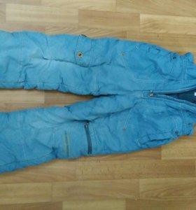 Зимние штаны, рост 122