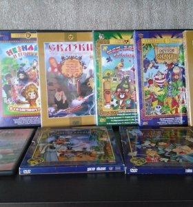 диски с русскими мультиками