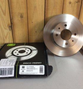 Передние тормозные диски Ваз 2108-2115