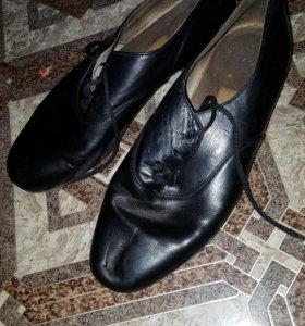 Ботинки для бальных танцев стандарт