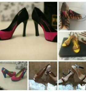 Обувь 36 размер 6пар