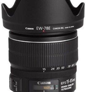 Продажа, обмен Canon EF-S 15-85mm f/3.5-5.6 IS USM