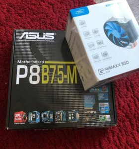 Intel Core i5-3470 + мат.плата + 16гб озу