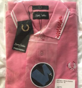 FRED PERRY X BARNEY BUBBLES MOUTH POLO (M) LIMITED