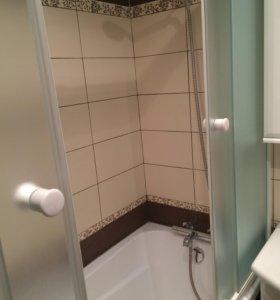 Раздвижные шторки для ванны