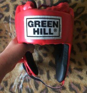 Боксерский набор перчатки шлем и лапы