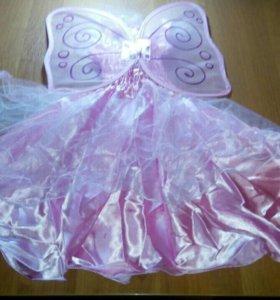 Новогоднее платье феи