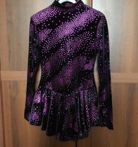 Платье для фигурного катания и колготки