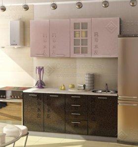 """Кухня """"Иероглиф"""", композиция 5, 1,6 м"""