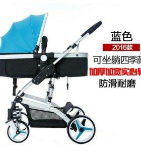 Детская коляска 2 в 1 новая