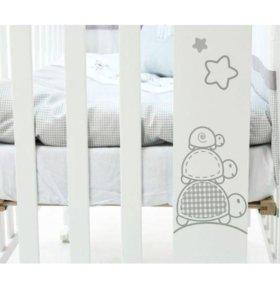 Детская кроватка Micuna с матрацем