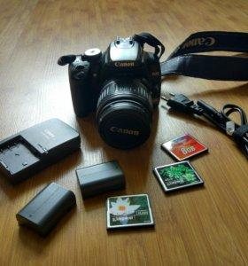 Фотоаппарат Canon 400D + cумка