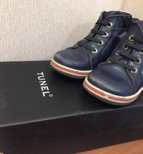 Кожаные ботинки tunel