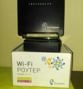 Wi-fi роутер и тв приставка ростелеком
