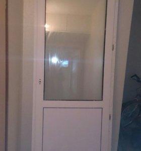 Балконный блок окно и дверь