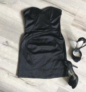 Платье H&M , босоножки