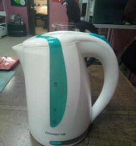 Чайник Polaris подсветка новый