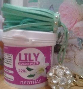паста для шугаринга LILY 400 грамм СРЕДНЯЯ
