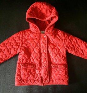 Стёганая куртка Next 3-4 года