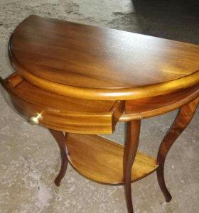 Этажерка полукруглая столик.
