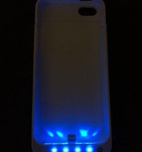 Чехол аккумулятор для iPhone 5 и 5S