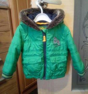 Стильная куртка на мальчика