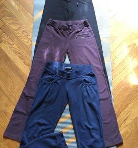 Спортивные штаны разные р.42-44