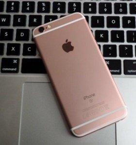 Айфон 6s розовый 64 гб с гарантией