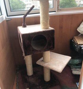 Когтеточка , дом для кота