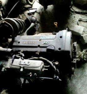 Hyindai elantra, двигатель 1.6л