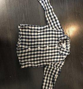 Рубашка детская 80р