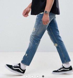 Мужские джинсы новые W34 L32