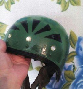 Шлем мотоциклетный старого образца