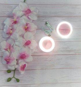 Световые кольца для селфи