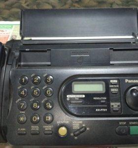 Телефон-факс Panasonic многофункциональный KX-FT31