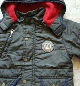 Курточка на флисе 86р.