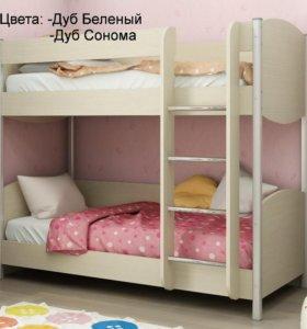 Кровать двухъярусная Лером