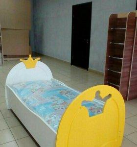 Кровать МДФ корона